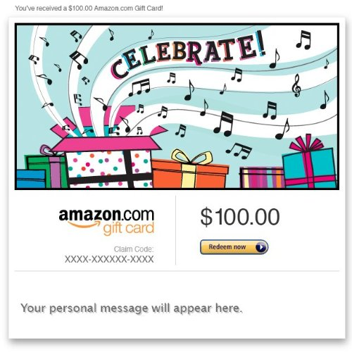Amazon eGift Card - Celebrate