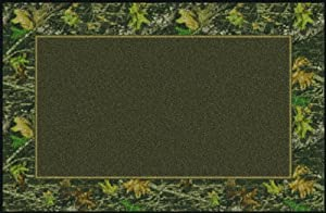 Mossy Oak Breakup Solid Center Rug