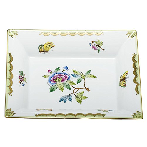 Herend Queen (Herend China Jewelry Tray Queen Victoria)