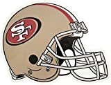 NFL San Francisco 49ers Outdoor Small Helmet Graphic Decal