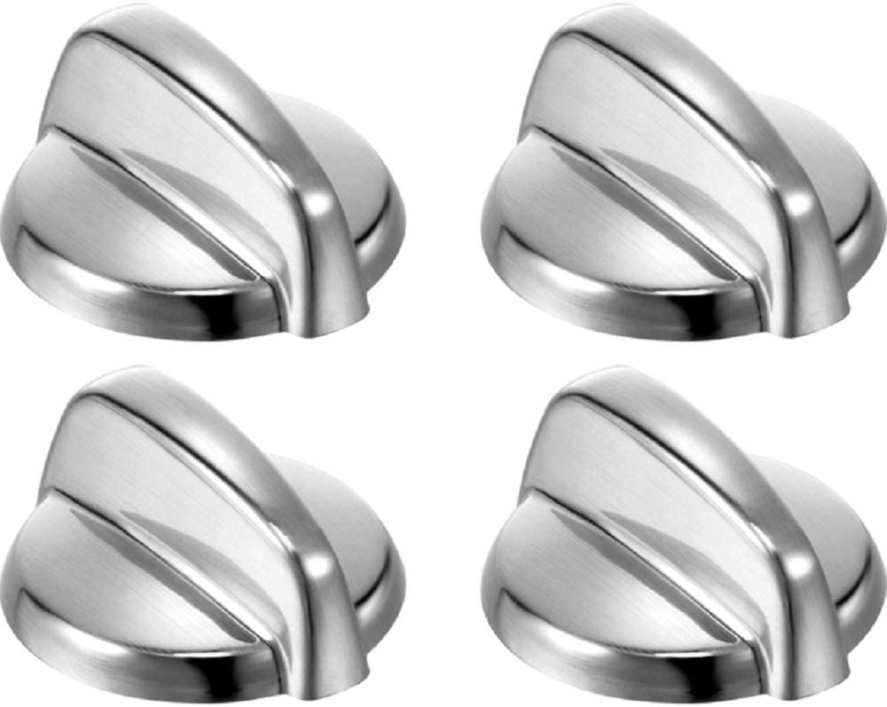 Edgewater Parts WB03T10295, AP4411070, PS2353386 Pack Of 4 Burner Knobs Compatible With GE Range
