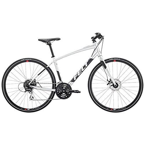 FELT(フェルト) クロスバイク ベルザスピード 40 グロスプラチナ 470mm B0768BG121