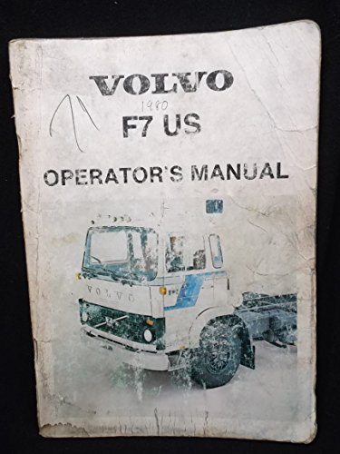 (Volvo 1980 F7 US Series Operators)