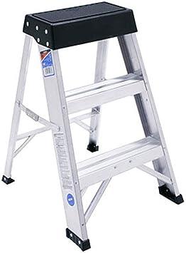 Escalera de hogar Escalera de tijera Escalera de espiga Escalera de aluminio Escalera pequeña: Amazon.es: Bricolaje y herramientas