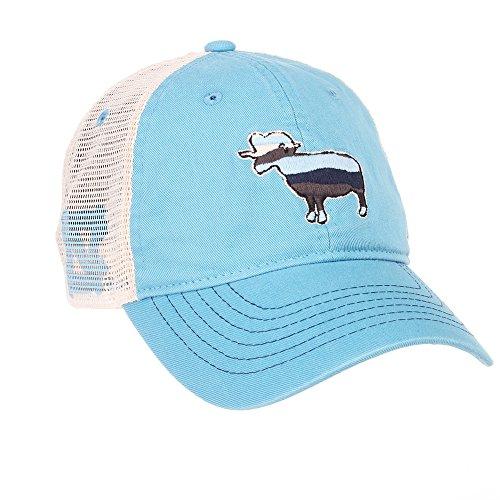 Elite Fan Shop North Carolina Tar Heels Trucker Hat - Blue Tar Heels Unc Baseball
