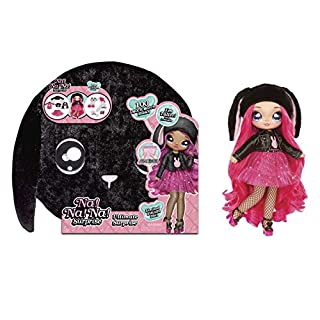 MGA Entertainment Na! Na! Na! Surprise, Black Bunny with New Taller Doll and 100 Plus Mix and Match Looks, 11 inches