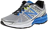 New Balance Men's M1260 NBX Running Shoe,Silver/Blue,9 B US