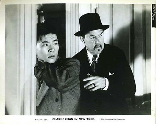Sydney Toler Charle Chan In New York 8x10