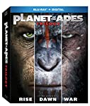 Cover Image for 'Planet of the Apes Trilogy [Blu-ray + Digital]'