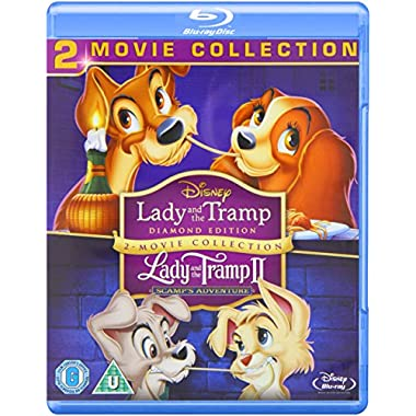 Lady and the Tramp / Lady and the Tramp II: Scamp's Adventure Blu-ray [Region-Free]