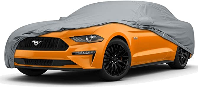 CoverMaster Gold Shield Car Cover for Ford Mustang Sedan 5 Layer 100/% Waterproof