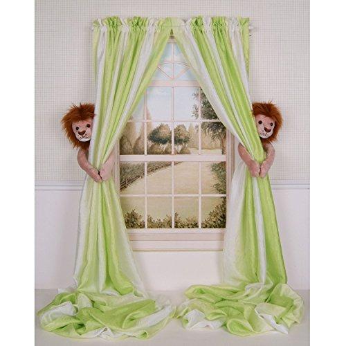 Curtain Critters ALBNLN130909SET Plush Safari Lion Curtain Tieback Set- 2 from Curtain Critters