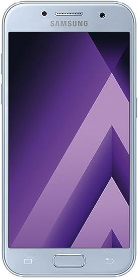 Samsung Galaxy A3 2017, Smartphone libre (4.7, 2GB RAM, 16GB, 13MP) [Versión alemana: No incluye Samsung Pay ni acceso a promociones Samsung Members], color Azul (Blue Mist): Amazon.es: Electrónica