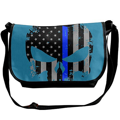 Designer Bags Black Fashion Blue Crossbody Line Women's Casual Bag American Flag Thin Sling Bag Skull Uq7gRR