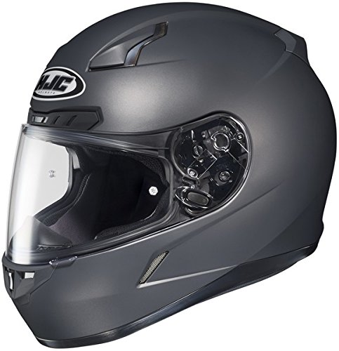 Hjc Cl-17 Matte Anthracite SIZE:XXL Full Face Motorcycle Helmet