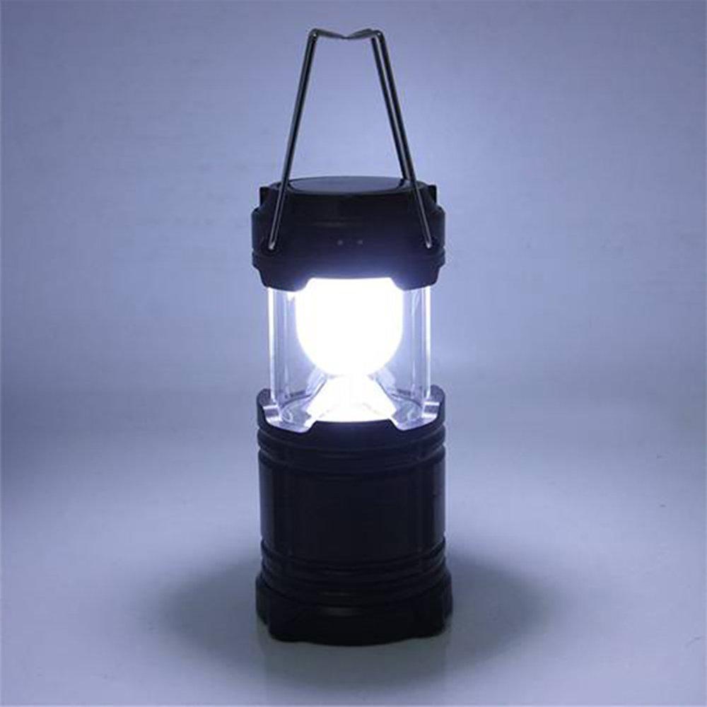 New_Soul Lote de de Lote 2 faroles LED Plegables, Ultra Brillantes, para Acampada, Senderismo, Pescado o Pesca, Funciona con Pilas, Resistente al Agua e59893