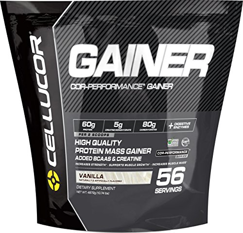 Cellucor Cor-Performance 56 Servings Mass Gainer Protein Powder Supplement, Vanilla, 4872 Gram