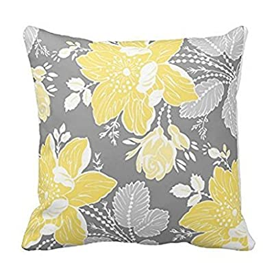 Floral Decorative Decorative Throw Pillow Case Cushion Cover 1818