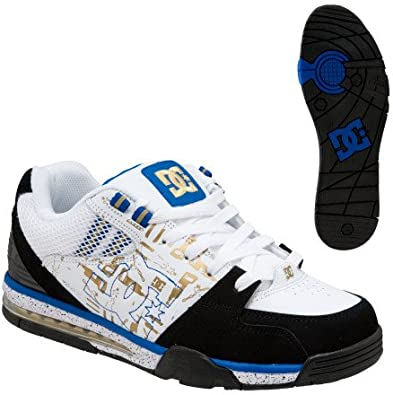 DC Shoes Men/'s Pure Low Top Sneaker Shoes White Blk Blk Footwear Skateboard