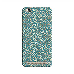 Cover It Up - Brown Blue Pebbles Mosaic Redmi 5A Hard Case