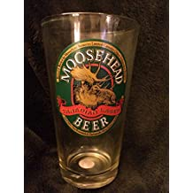 Moosehead Lager Traditional Beer Pint Glass