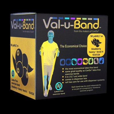 Val-U-Band Latex Free Exercise Band, Blueberry