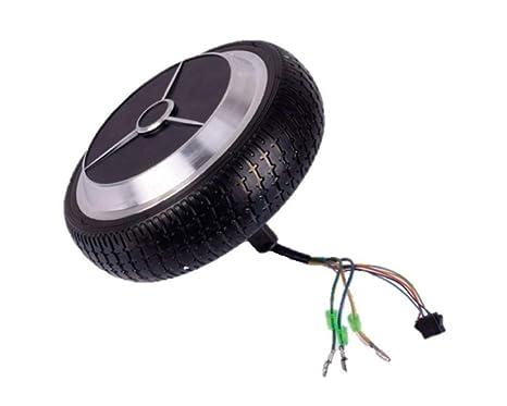 Buoyo Repuesto Rueda con Motor Integrado de 350W para Hoverboard, Patinete eléctrico de 6,5