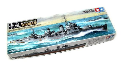 RCECHO® Tamiya Military Model 1/350 War Ship JAP. YUKIKAZE Destroyer Scale Hobby 78020 with RCECHO® Full Version Apps Edition