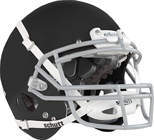 Schutt Air XP Pro VTD II Adult Football Helmet (Faceguard Not Included), Matte Black, Large