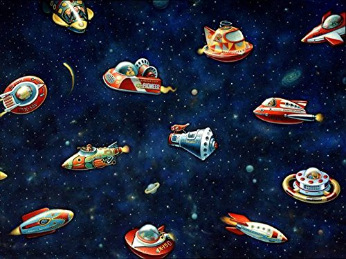 Imagekind Wall Art Print entitled Toys In Space Jere Smith | 15 x 11