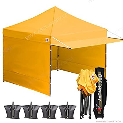 ABCCANOPY (20+colors) 10x10 Easy Pop up Canopy Tent Instant Shelter Commercial Portable