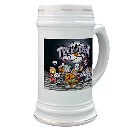 Stein (Glass Drink Mug Cup) Halloween Trick or Treat Costumes