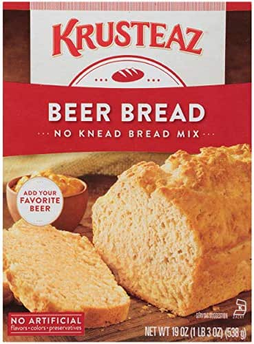 Baking Mixes: Krusteaz Beer Bread Mix