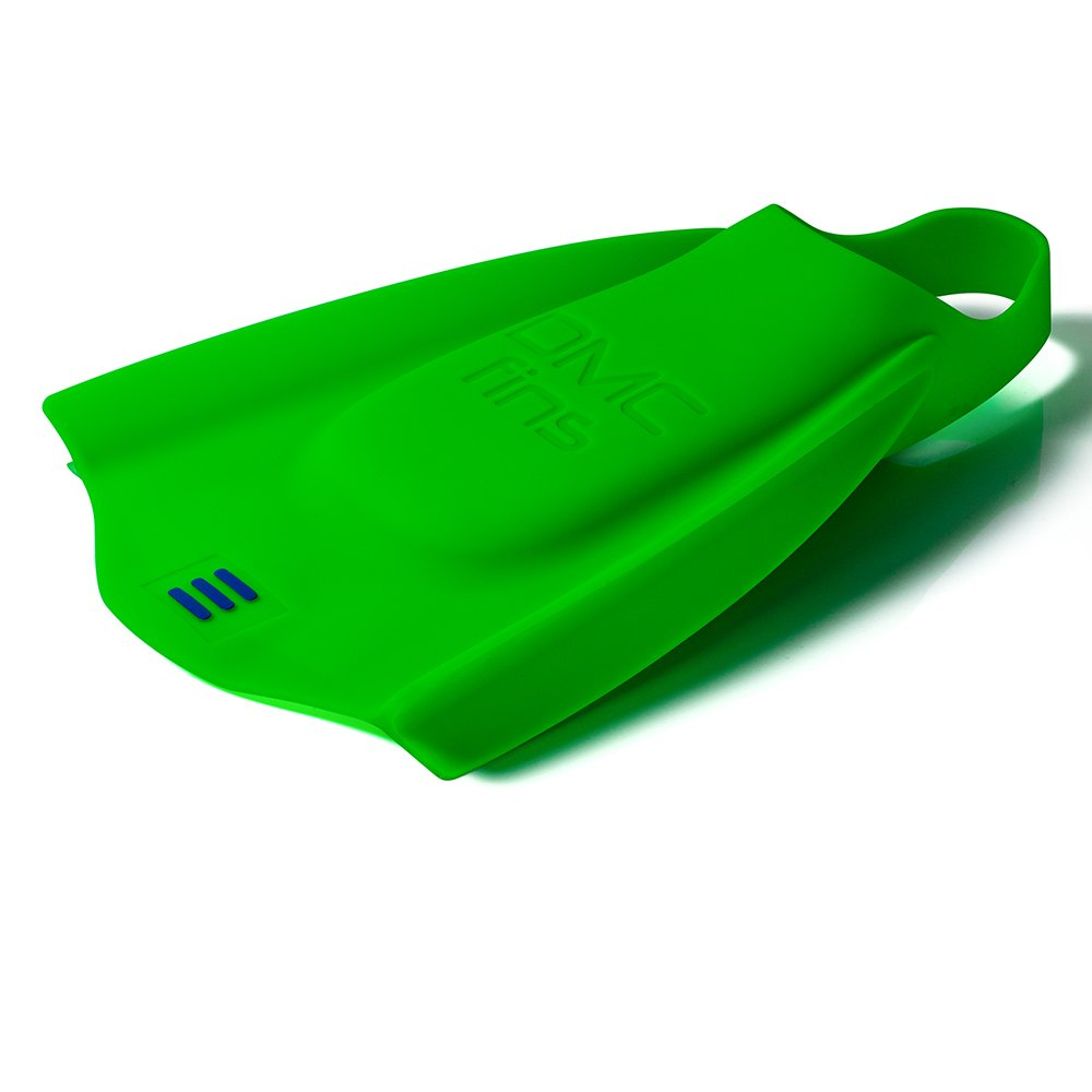 DMC Fins Elite II Swim Training Fins Blue/Green (Green, MS)