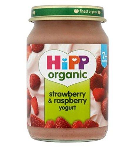 Hipp Organic Strawberry & Raspberry Yogurt 7+ Months 160G - Pack of 2