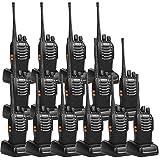 Retevis H-777 2 Way Radios UHF Long Range Rechargeable Walkie Talkies 16CH Flashlight Hand Free Two Way Radios (15 Pack)