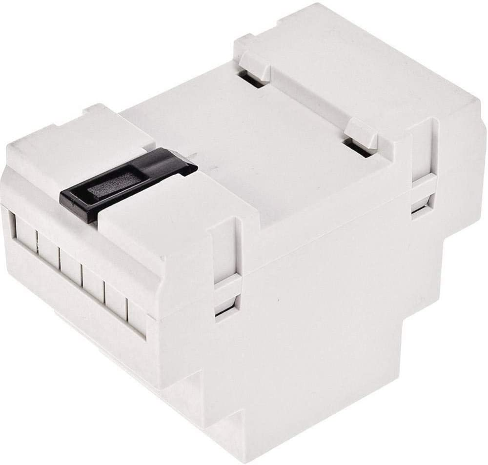 TRU COMPONENTS 4U65050907310 Hutschienen-Geh/äuse 53 x 90 x 65 ABS-V0 Grau 1 St.