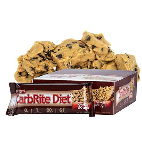 Doctor's CarbRite Diet Sugar-Free Protein Bar - Cookie Dough (12 Bars) by Doctor's CarbRite