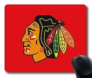 Chicago Blackhawks Logo Rectangle Mouse Pad by LZHCASE