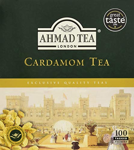 Ahmad Tea Cardamom Tea, 100 Count for sale  Delivered anywhere in USA