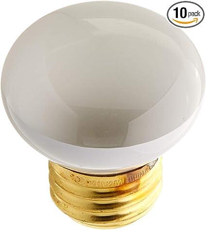 Intermediate Base Bulbrite 25R14N 25-Watt Incandescent R14 Mini Reflector Light Bulb