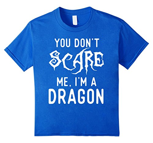 Clever Science Costumes (Kids Funny Dragon Shirts Halloween Costume Joke Gag Kids Gifts. 8 Royal Blue)