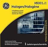 GE Standard H5001 OEM Halogen Replacement Headlight Bulb, (1 Pack)