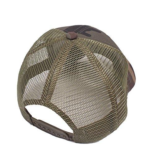 Sombrero C rejilla Mujer Primavera Aire de al Gorra Verano de de Sol béisbol Retro jungla para Unisex hombre Hat Tapa Deporte de Ocio Hombre Libre para Gorra wwp4F1vqx