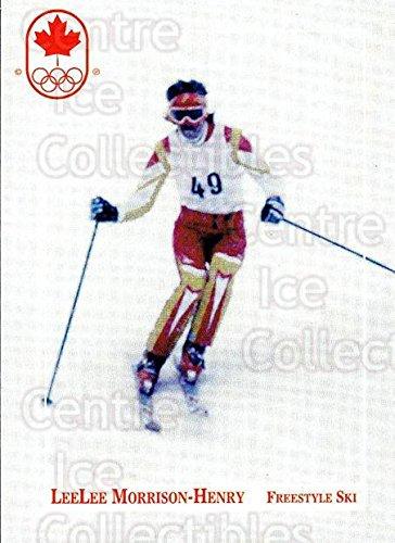 (CI) Lee-Lee Morrison-Henry Hockey Card 1992 Canadian Olympic Hopefuls 75 Lee-Lee Morrison-Henry