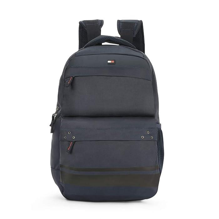 Tommy Hilfiger 24.58 Ltrs Navy Laptop Backpack (TH/BIKOL08STO)