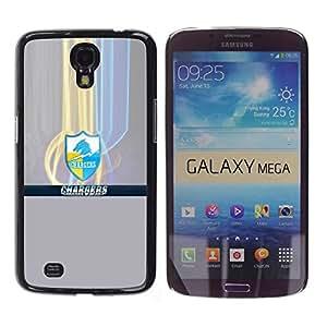 Cargadores - Metal de aluminio y de plástico duro Caja del teléfono - Negro - Samsung Galaxy Mega 6.3