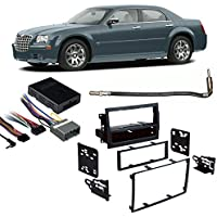 Fits Chrysler 300/300C 2005-2007 w/ NAV Stereo Harness Radio Install Dash Kit