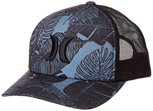 Hurley Women's Apparel Women's Paradise Winds Icon Trucker Hat, Celestial Teal, One Size Fits All (Hat Hurley Women)
