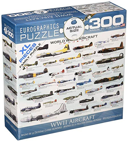 EuroGraphics WWII Airplanes 300 Piece Puzzle (Small Box) Puzzle